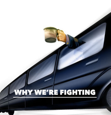 why we're fighting